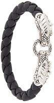 John Hardy Legends Naga double dragon head bracelet