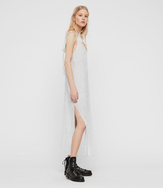 AllSaints Dalea Stripe Dress