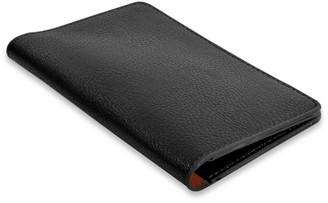 Campo Marzio Passport Holder Double Colour Black