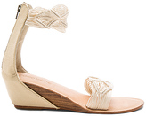 Cocobelle Lilly Wedge in Ivory. - size 38 (also in 39)