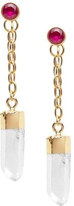 Nialaya Jewelry Diamond-Accent Chain Earrings
