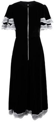 ALEXACHUNG 3/4 length dress