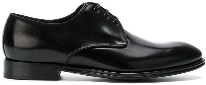 Dolce & Gabbana piped Derby shoes