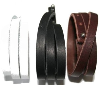 CORED Wrap g13-braun Bracelet Leather Brown 60 cm