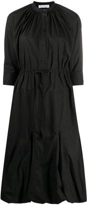 J.W.Anderson Flared Bubble Hem Midi Dress