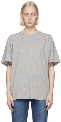 Totême Grey Organic Cotton Oversized T-Shirt