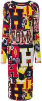 Tommy Hilfiger printed jersey midi dress