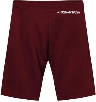 Tommy Hilfiger Knit Fleece Shorts - Burgundy