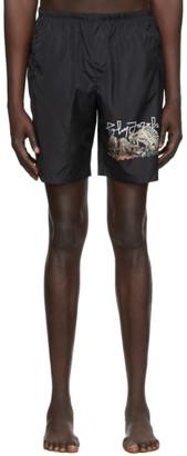 Palm Angels Black Desert Skull Swim Shorts