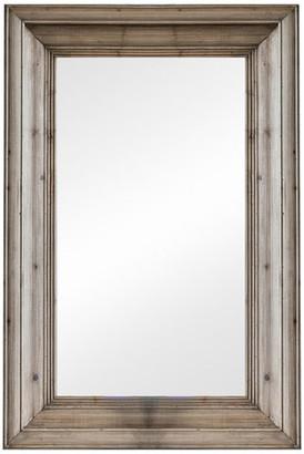 Vagabond Vintage Large Rectangular Waxed Pine Mirror