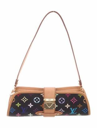 Louis Vuitton Vintage Multicolore Shirley Clutch Black