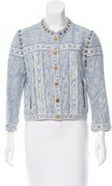 Rebecca Minkoff Stud-Accented Textured Jacket