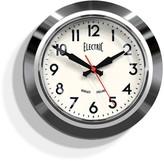 Newgate Chrome Electric Clock