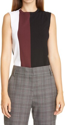Judith & Charles Delphine Colorblock Sleeveless Sweater