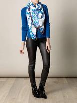 Athena Procopiou L'Alhambra pom-pom scarf