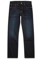 Levi's 501 Original Dark Blue Straight-leg Jeans