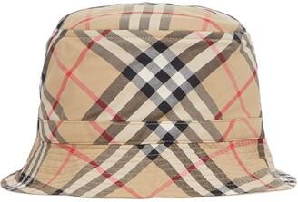 BURBERRY KIDS Vintage Check bucket hat
