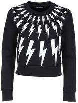 Neil Barrett Lightning Embroidered Sweatshirt