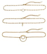 Luv Aj Women's Trinity Set Of Three Choker Necklaces