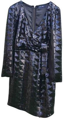 April May Metallic Glitter Dress for Women