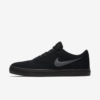 Nike Men's Skateboarding Shoe SB Check Solarsoft Canvas