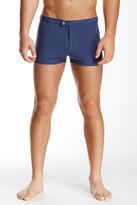 Parke & Ronen Lancaster Solid Stretch Swim Short