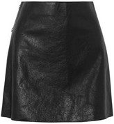 Sonia Rykiel Textured-leather Mini Skirt