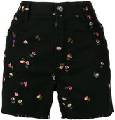 Ermanno Scervino floral motif shorts - women - Cotton/Elastodiene/Polyester - 38
