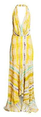 Silvia Tcherassi Women's Ardell Sleeveless V-Neck Maxi Dress