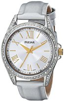 Pulsar Women's PG2007 Analog Display Japanese Quartz Silver Watch