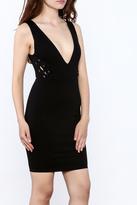 Solemio Grommets Dress