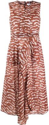 Christian Wijnants Damari circle print shirt dress
