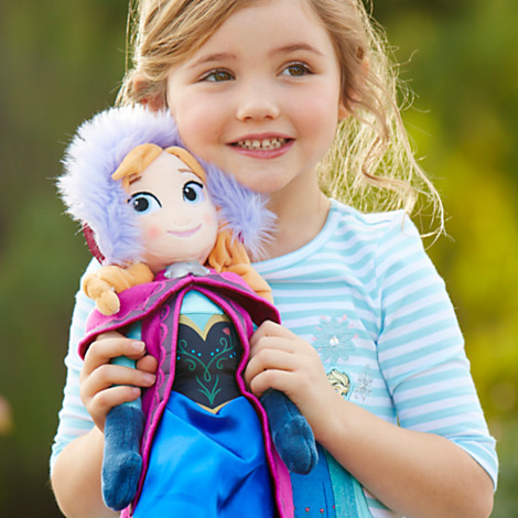 Disney Anna Plush Doll - Frozen - Medium - 20''