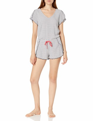 Splendid Women's Short Sleeve Loungewear Pajama Set