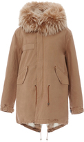 Mr & Mrs Italy Old School Checked Lining Parka