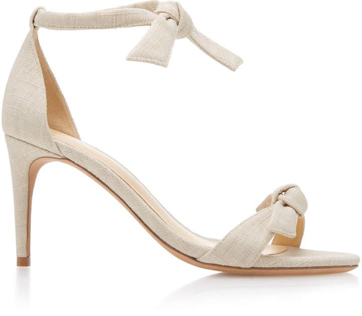 Alexandre Birman Clarita Linen Sandal