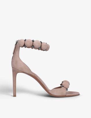 Azzedine Alaia Bombe 110 spike-embellished leather sandals