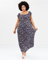 Evans Floral Gypsy Maxi Dress