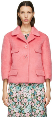 Marc Jacobs Pink Wool Boxy Jacket