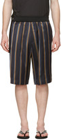 3.1 Phillip Lim Multicolor Striped Tapered Shorts