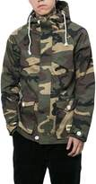 Honghu Men's Fashion Tall And Big Loose Fit Military Jacket Size M