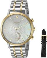 Kate Spade Women's KST23103B Grand Metro Two Tone Hybrid Smartwatch Gift Set