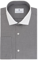 Ryan Seacrest Distinction Men's Slim-Fit Non-Iron Gray French Cuff Dress Shirt, Created for Macy's