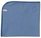 Geggamoja Navy and White Stripe Blanket
