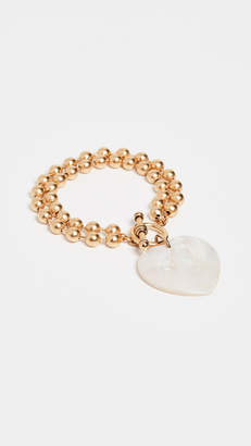 Eliza J Brinker & Heart On Your Sleeve Bracelet