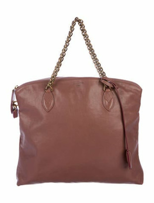 Louis Vuitton Lockit Chain Bag Mauve