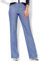 New York & Co. 7th Avenue Design Studio Pant - Signature - Universal Fit - Bootcut - Grand Sapphire - Petite