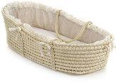 Badger Basket Natural Baby Moses Basket with Ecru Gingham Bedding