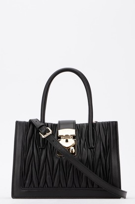 Miu Miu Confidential Matelasse Top Handle Tote Bag