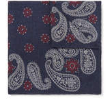 Brunello Cucinelli - Paisley-Print Wool Pocket Square